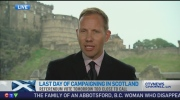 CTV News Channel: Ben O'Hara-Byrne from Edinburg