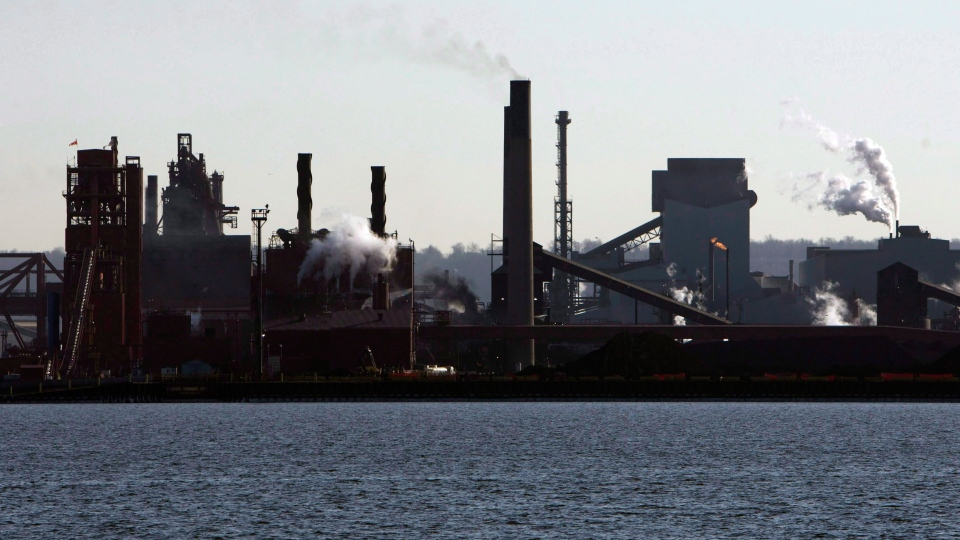 Steel operations in Hamilton, Ont.