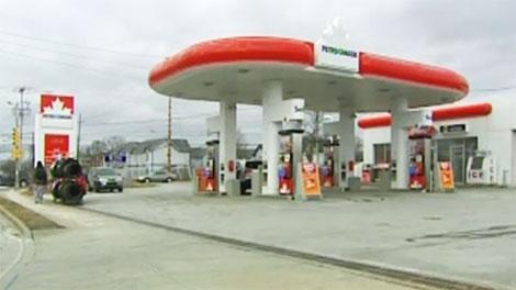 petro canada, gas station