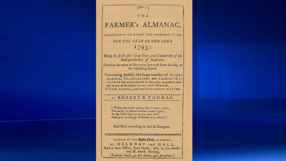 The Old Farmer's Almanac has an average accuracy rating of approximately 80 per cent.
