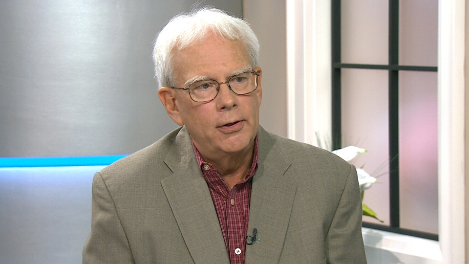 Jack Burnett, editor of the Old Farmer's Almanac talks about weather predictions on CTV's Canada AM on Thursday, Sept. 18, 2014.