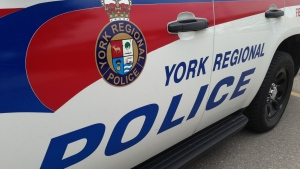 A York Regional Police car is seen in this undated photo.