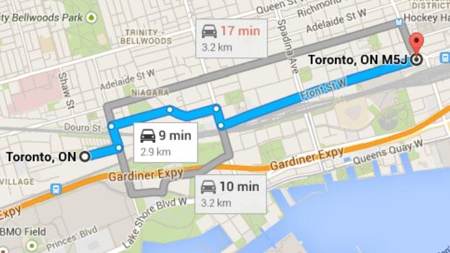 Crowdfunding Toronto bus route