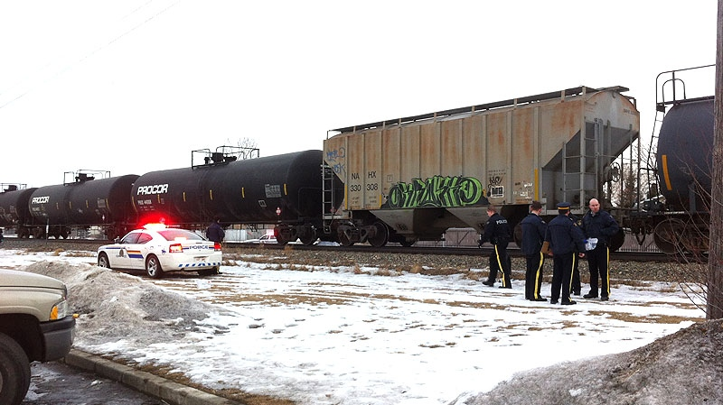 Leduc RCMP are investigating after a pedestrian was struck and killed by a train just before 3:30 p.m. on Monday, February 13.