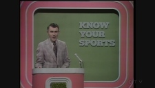 Dick Irvin was the host of Know Your Sports in 1974