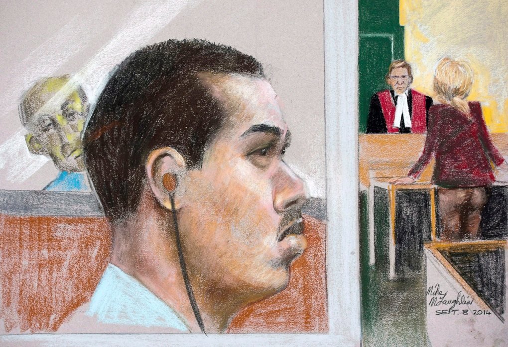 Jury Watches Jun Lin On Video Entering Magnotta S Apartment Building Ctv News