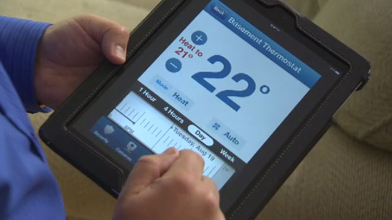 With smart devices like thermostats, light switches, bulbs, outlets, and even window blinds, you can automate the temperature in your home, turn off the lights after rushing out the door, and close your window blinds on a hot day. (File photo)