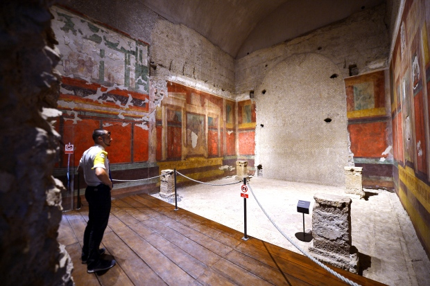 Rooms In Roman Emperor S House Open 2 000 Years After