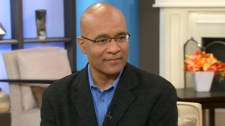 Author Ralph Richard Banks appears on Canada AM, Tuesday, Feb. 14, 2012.