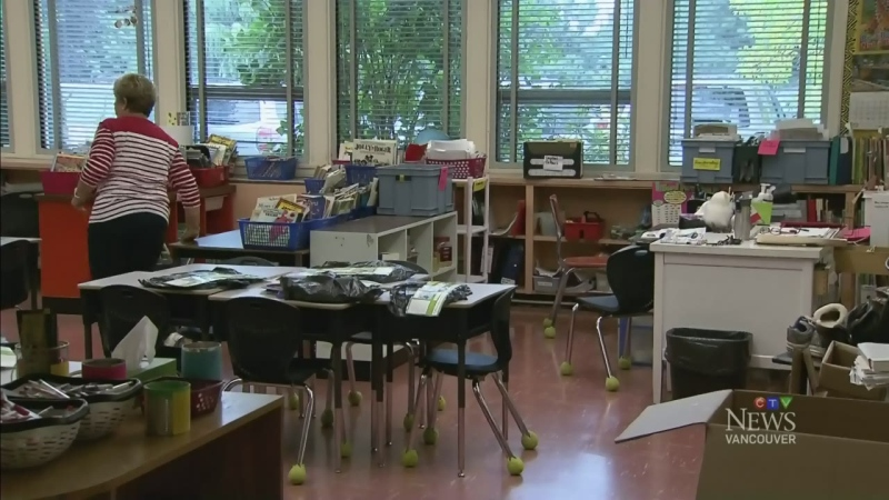 CTV Vancouver: Scramble to get B.C. schools ready