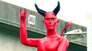 CTV Vancouver: Devil statue prompts art discussion