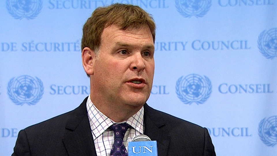 Baird speaks after UN Security Council meeting