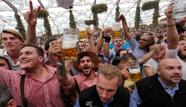 The 181st annual Oktoberfest kicked off in Germany with beer lovers from all around the world celebrating the opening of the festival. Check out highlights from the opening day.  <br><br>