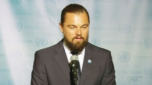 Extended: Leonardo DiCaprio speaks at UN