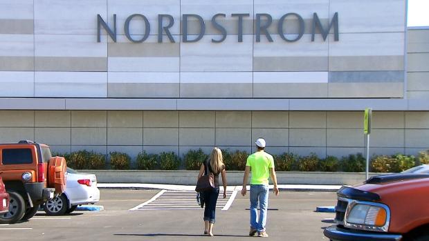 Nordstrom store facade