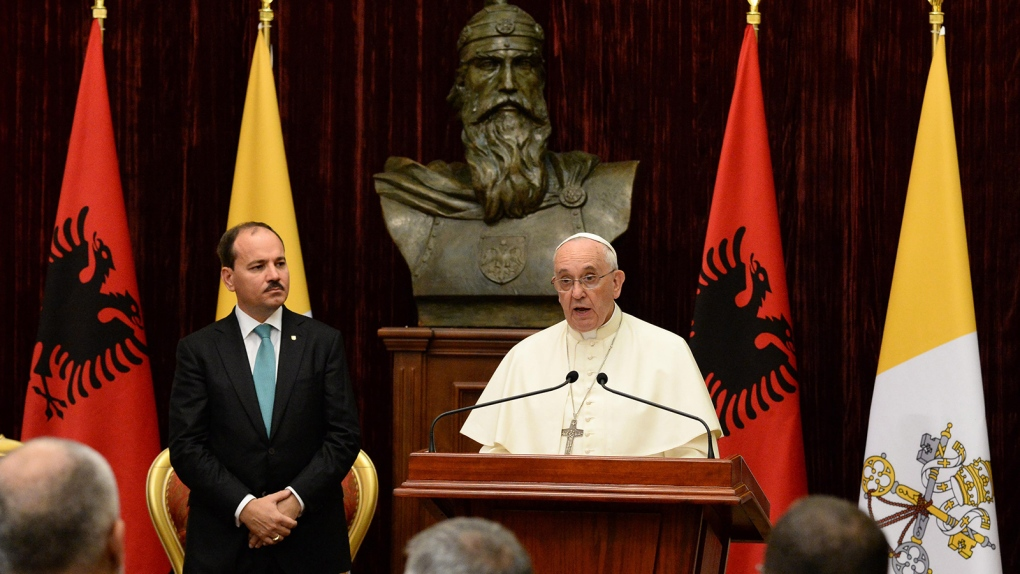 Pope Francis in Albania