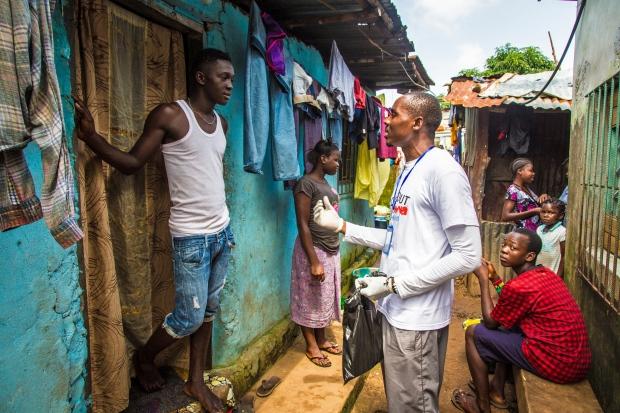 Three-day Ebola lockdown in Sierra Leone