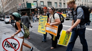 UN climate summit in New York City