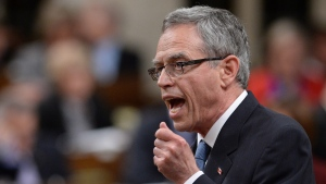 Finance Minister Joe Oliver answers a question in the House of Commons, Tuesday, Sept. 16, 2014 in Ottawa. (Sean Kilpatrick / THE CANADIAN PRESS)