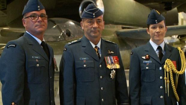 New Royal Canadian Air Force Uniform Unveiled Ctv Ottawa News