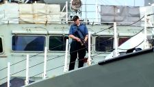 HMCS Toronto operating in the Black Sea