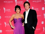 FILE - This April 5, 2009 file photo shows Kris Jenner, left, and her husband Bruce Jenner at the 44th Annual Academy of Country Music Awards in Las Vegas. Kris Jenner filed for divorce Monday, Sept. 22, 2014, in Los Angeles, from estranged husband, Bruce Jenner, citing irreconcilable differences. (AP / Dan Steinberg)