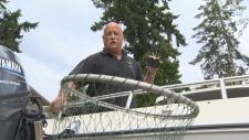 Don Dunbar rescues bald eagle