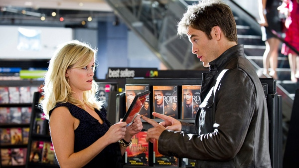 Reese Witherspoon, left, and Chris Pine in a scene from 20th Century Fox's 'This Means War.'
