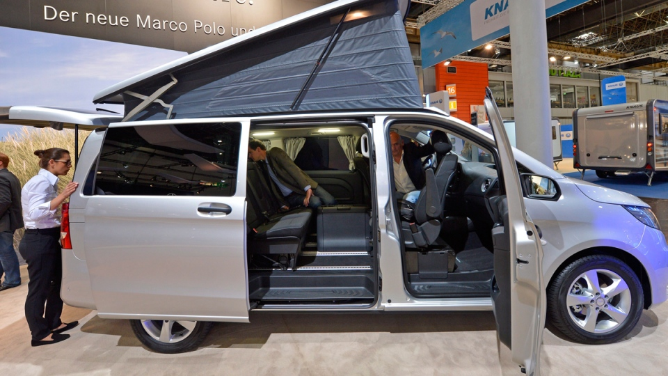 mercedes rolls out 39 marco polo 39 glamper ctv news autos. Black Bedroom Furniture Sets. Home Design Ideas