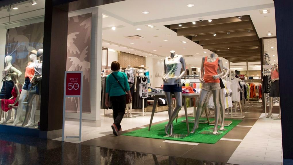 Retail sales dip in July: StatsCan