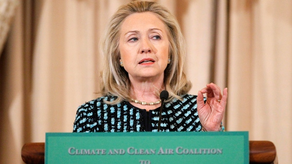 hillary clinton, climate coalition