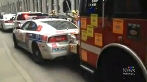 Fire rescue op in Old Montreal turns into demoliti