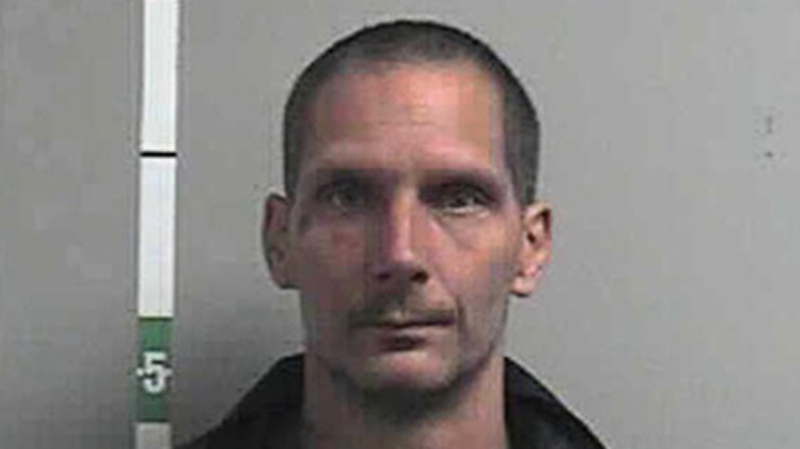 Raymond Lee Caissie, 43, has a long criminal history and was the subject of a police warning last year. Sept. 23, 2014. (Handout)