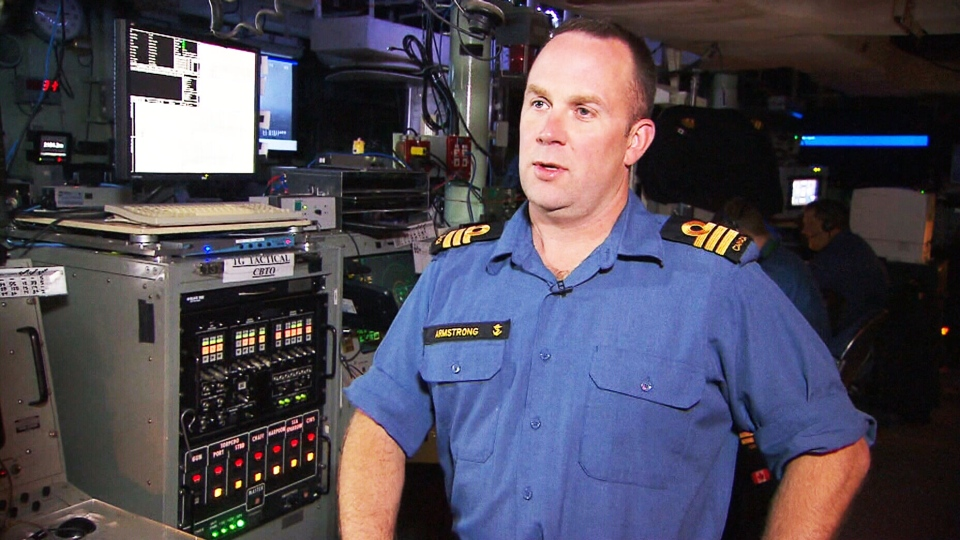 HMCS Toronto Commander Jason Armstrong gives CTV News an exclusive look at the vessels operations.