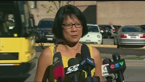 Olivia Chow speaking out on John Tory