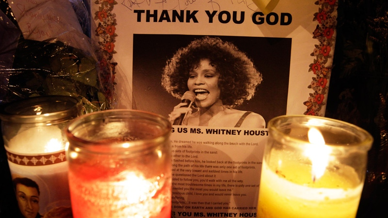 Whitney Houston, funeral, New Jersey