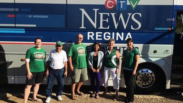 CTV Hometown Tour in Coronach