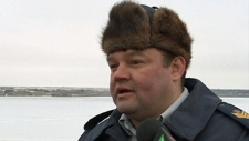 RCMP muskrat fur hat