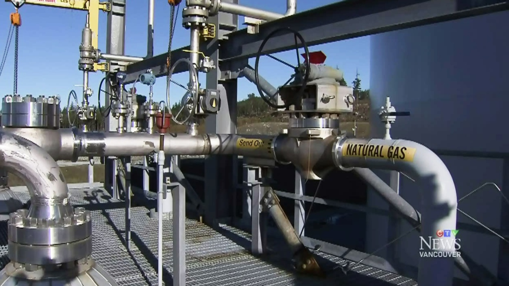 CTV Vancouver: LNG company puts chill on pipeline