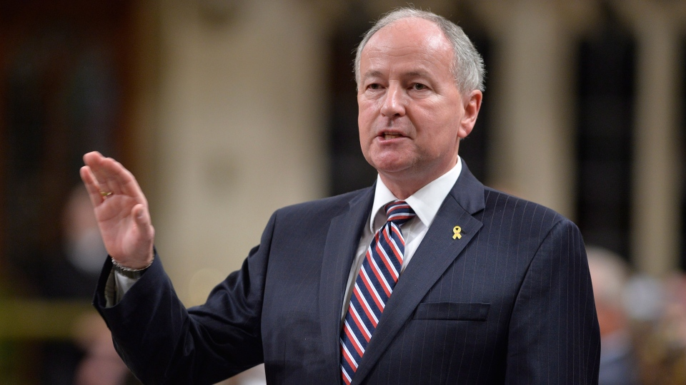 Defence Minister Rob Nicholson answers a question during Question Period in the House of Commons on Parliament Hill in Ottawa, Thursday, Sept.25, 2014 . (Adrian Wyld / THE CANADIAN PRESS)
