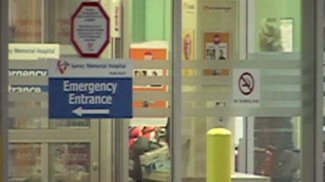 A 7-year-old girl from Langley was hospitalized on Saturday after a possible drug overdose. Feb. 18, 2012. (CTV)