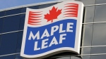 Maple Leaf Foods headquarters, Mississauga, Ont., Nov. 5, 2013. (THE CANADIAN PRESS IMAGES/Stephen C. Host )