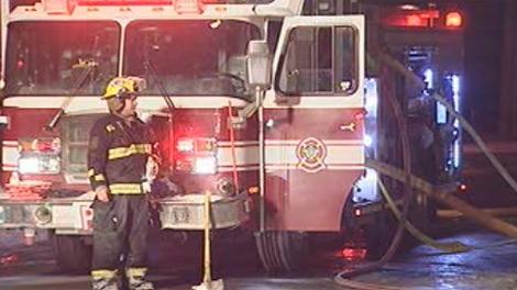 Winnipeg, firefighter, fire truck, fire, generic