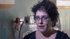 Dr. Sandra Seigel of St. Joseph's HealthCare in Hamilton, Ont. speaks with CTV News in this undated photo.