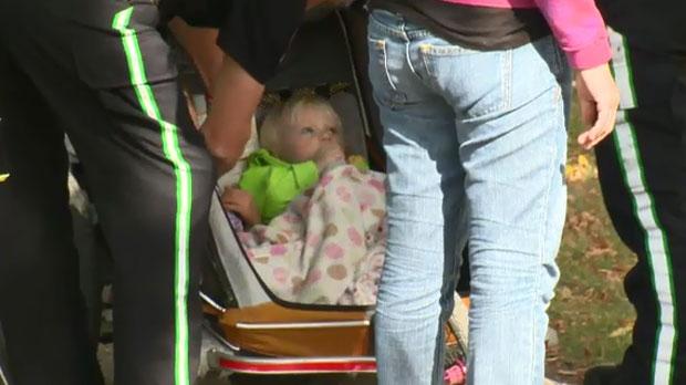 Stroller hit by car in Edmonton
