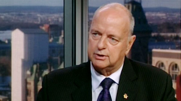 Veterans Ombudsman Guy Parent speaks on CTV's Power Play on Monday, Feb. 20, 2012.