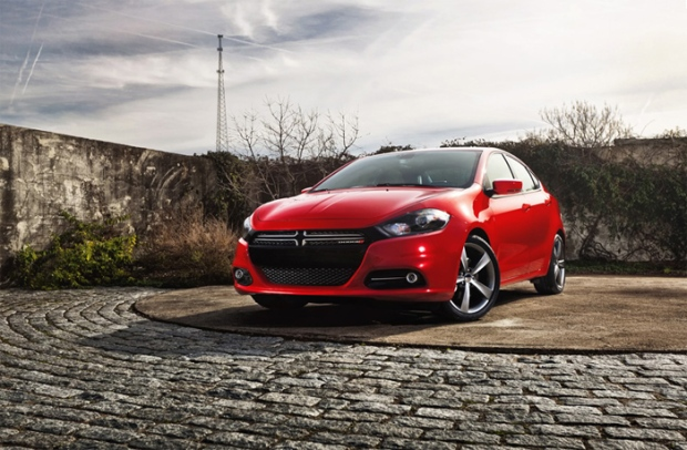 2013 Dodge Dart is seen in this image courtesy Chrysler Canada Inc.