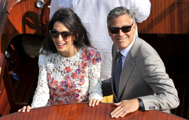 Mr And Mrs Clooney Make First Newlywed Appearance Entertainment Amp Showbiz From Ctv News