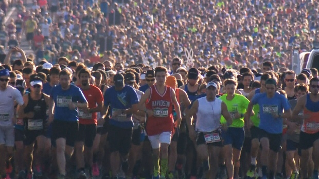 This weekend's Montreal marathon cancelled due to hot weather forecast
