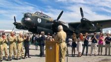 Lancaster plane